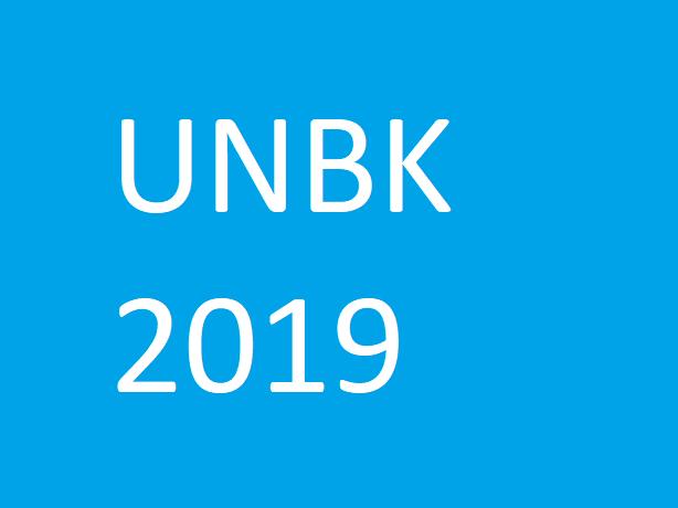 Jadwal Gladi bersih UBNK 2019 Jenjang SMA/SMK
