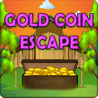 Play Games2Jolly Wooden Box Gold Coin Escape