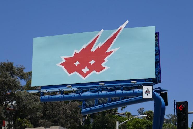 Cacti Spiked Seltzer teaser billboard