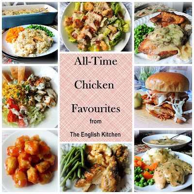 My Top Ten Favourite Chicken Recipes