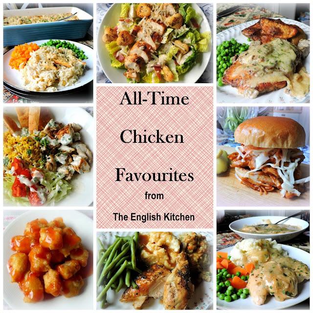 My Top Ten Favourite Chicken Recipes