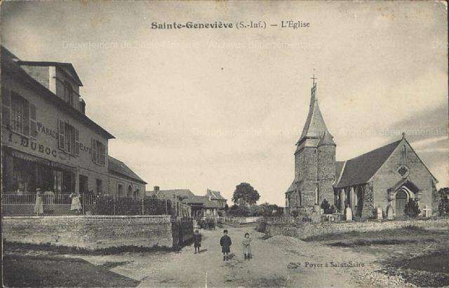 CPA Sainte Geneviève en Bray