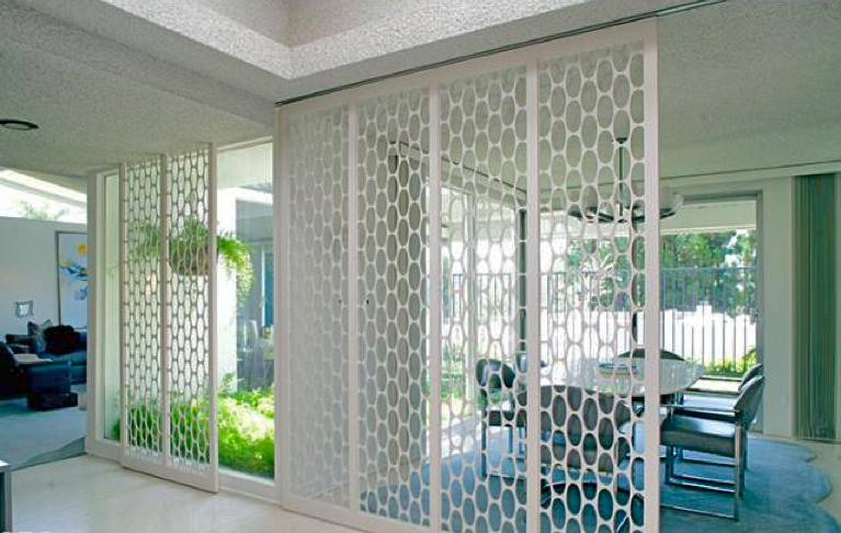 Mid Century Room Divider >> Modern Homes Los Angeles: Brentwood Untouched 1960 Mid ...