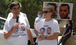Família Goldin protesta transferência de vacinas para Gaza
