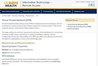 UC Davis VPN Login