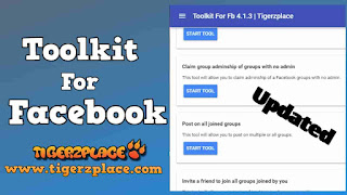 Toolkit for Facebook v4.1.3 by Tigerzplace