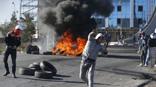 A fresh wave of violence broke out across the West Bank