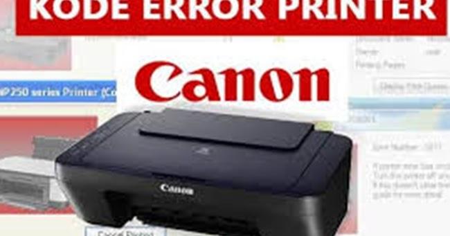 Cara Mengatasi Kode Error P Dan E Pada Printer Mp287 Atau Mp258