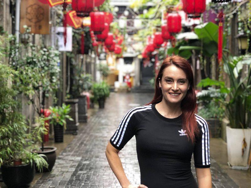 Begoña Basauri regresó de China es ultra seguro
