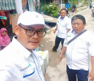 Air Tidak Keluar, Tim URC-KP PDAM Kotabaru Turun Kelokasi