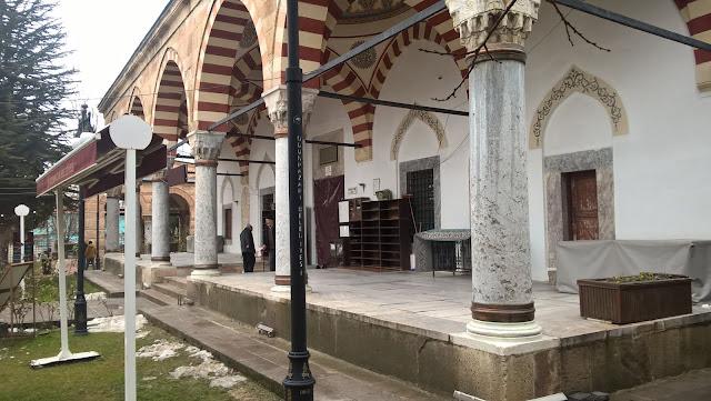 Harun İstenci Eskişehir'de Kurşunlu Külliyesi