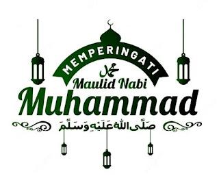 logo maulid nabi untuk banner png