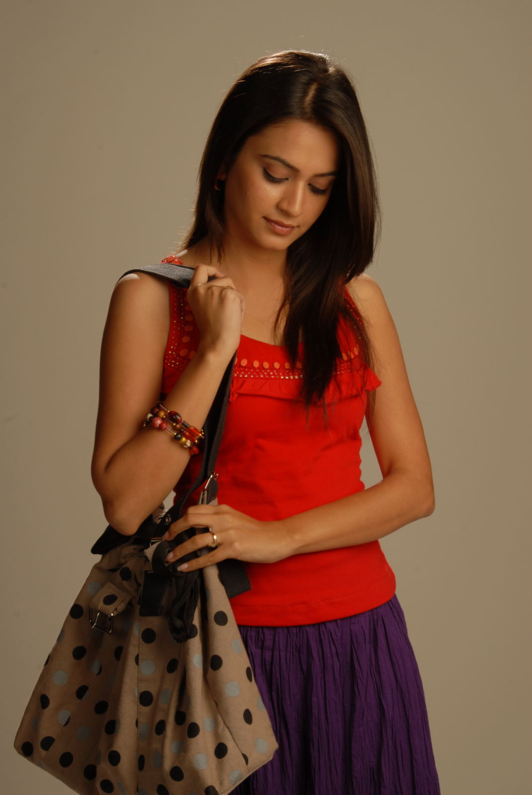 Kriti Kharbanda Latest Cute Stills In Red Dress