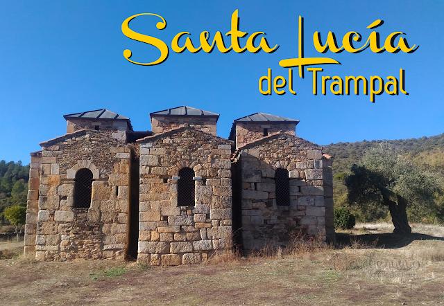 Santa Lucía del Trampal, a joia visigoda da Extremadura