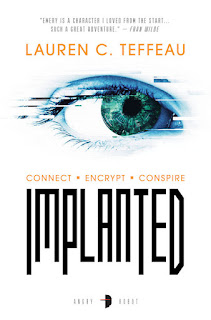 Interview with Lauren C. Teffeau, author of Implanted