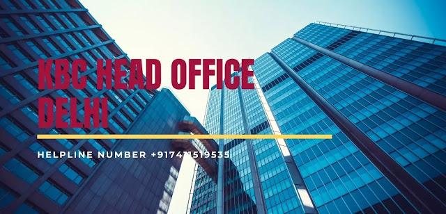 kbc head office delhi and pune