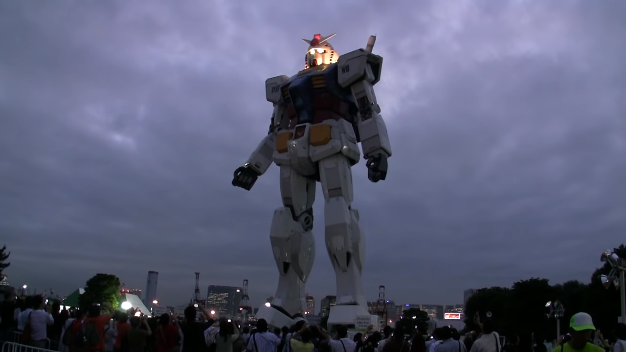 20 Meter Gundam ROBOT in Japan.