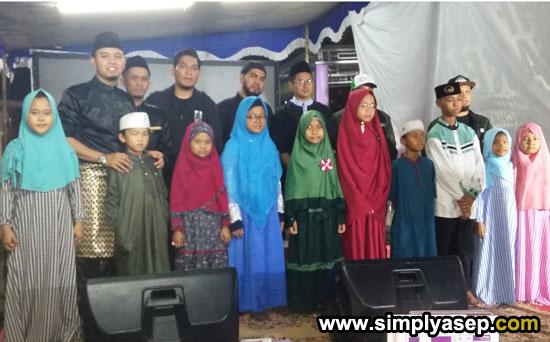 MUNZALAN GOT TALENT 2019 : Inilah para pemenang audisi MZT 2019 yang berlangsung di masjid Kapal Serdam (27/5) berfoto bersama.  Foto Asep Haryono