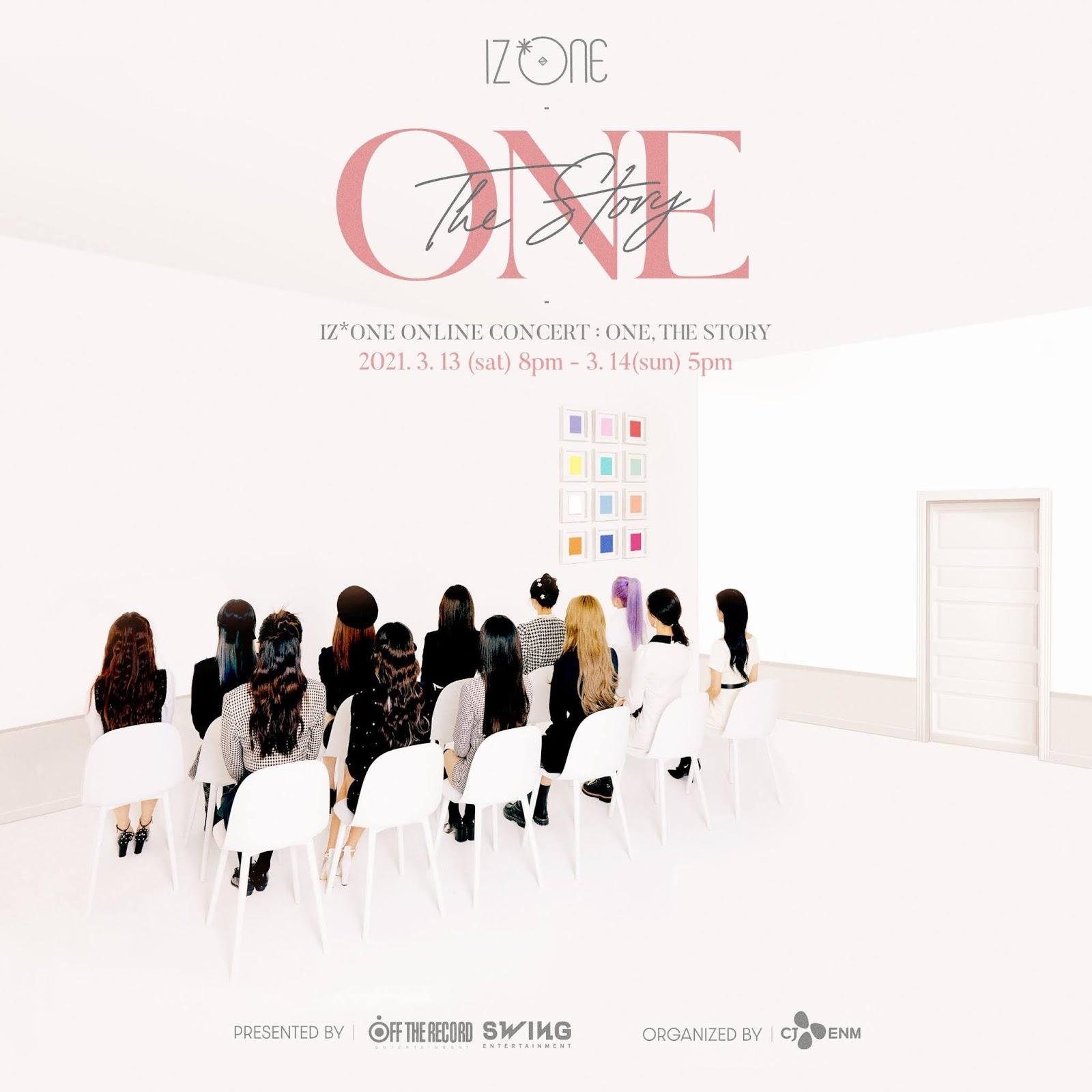 izone concierto final one the story