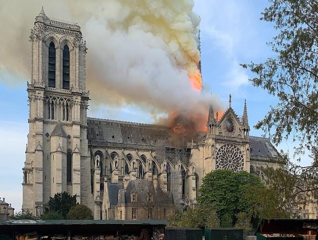 Incendi Notre-Dame de París