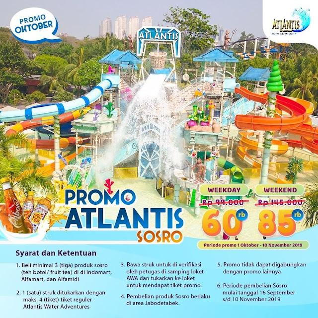 #Atlantis - #Promo Oktober Atlantis SOSRO Mulai 60K (16 - 10 Nov 2019)