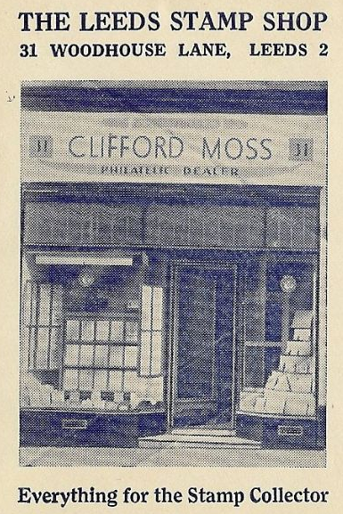 Clifford Moss Stamp Shop Leeds