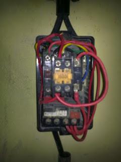 Rangkaian control motor DOL