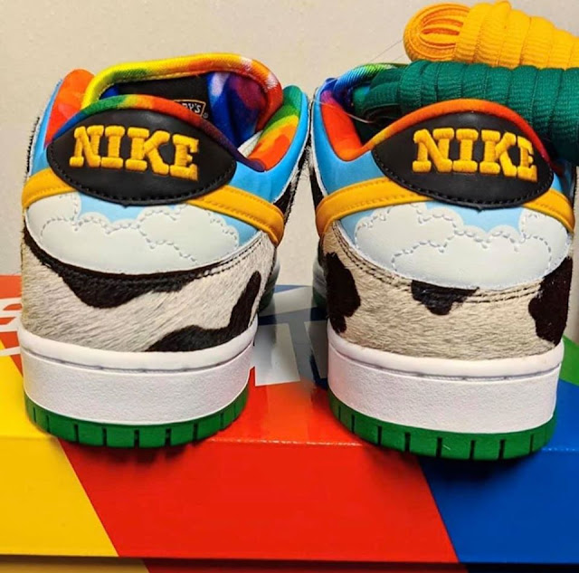 Nike SB x Ben & Jerry's Dunk Low Chunky Dunky - Back Shot