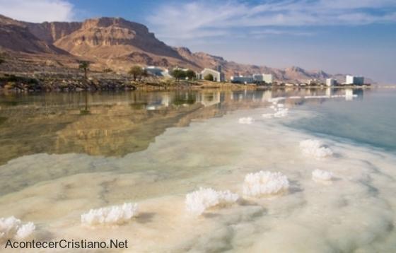 El Mar Muerto disminuye su nivel