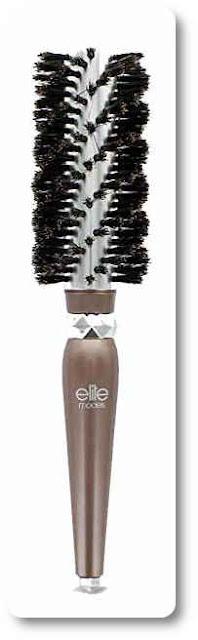 Elite Models Round Brush 100% Boar Bristles