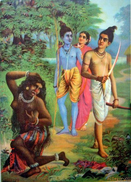 Ramayan Story In Hindi - शूर्पणखा की नाक