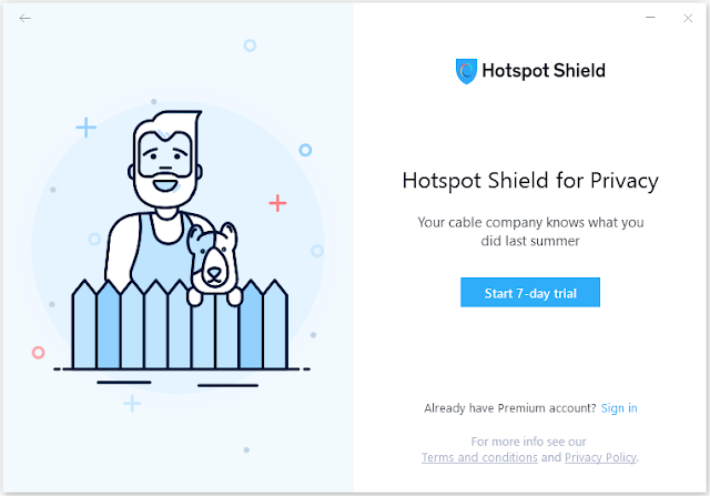 تحميل برنامج hotspot shield launch لفتح المواقع المحجوبة ويندوز 7