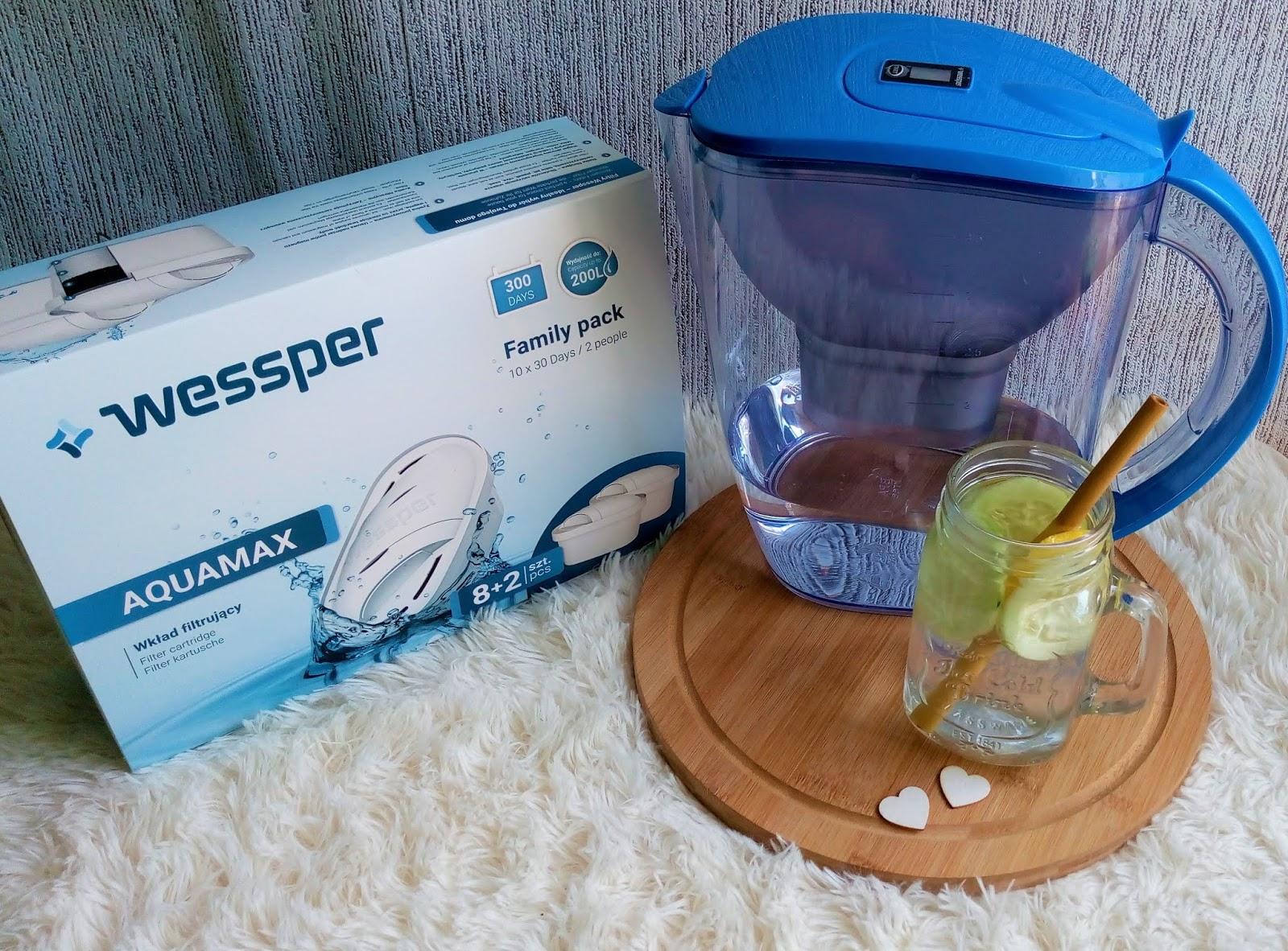 Lato, lipiec, upały i woda... - dzbanek filtrujący wodę + kod rabatowy