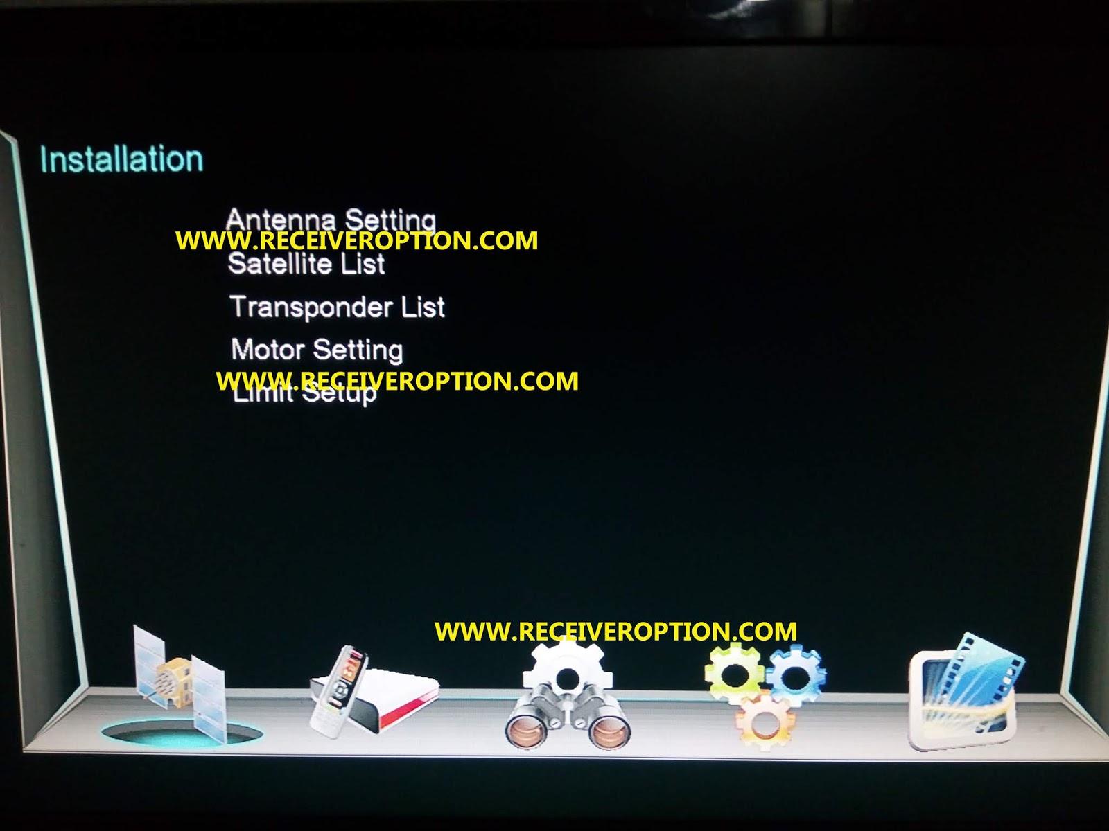 NEOSET i 5000 EXTREME 4K RECEIVER POWERVU KEY NEW SOFTWARE