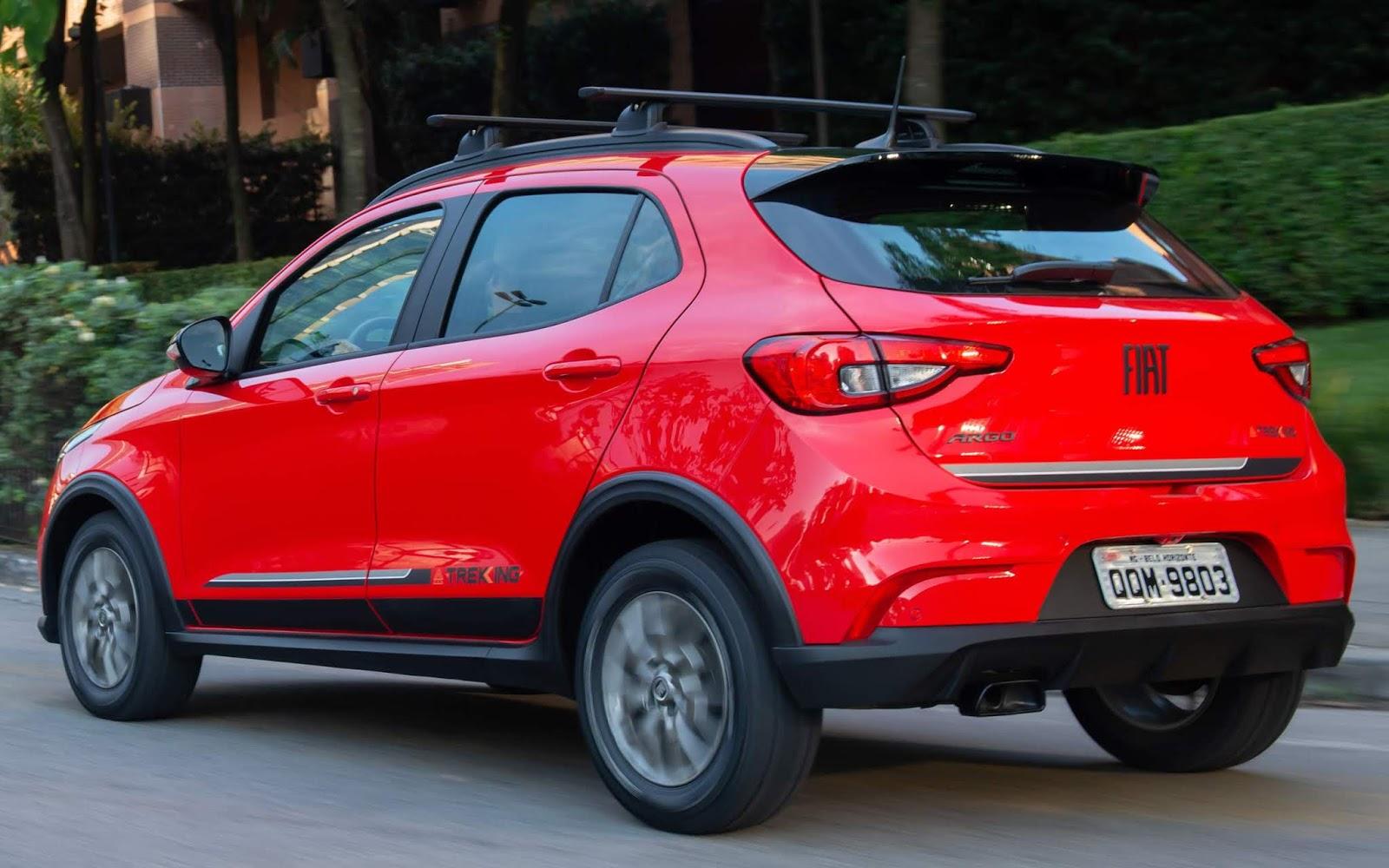 Fiat Argo - carro mais vendido do Brasil em maio de 2021