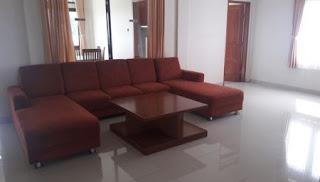 Ruangan Utama Villa Valencia Lembang