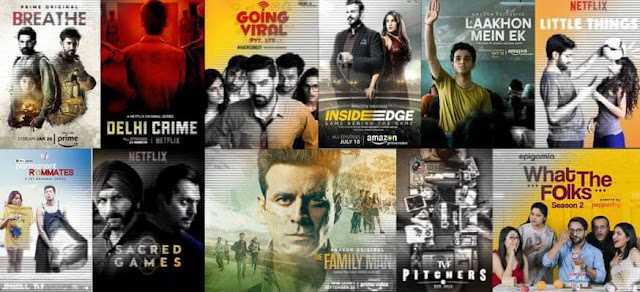 Indian Hindi Web Series 2021 - Latest Hindi Top Rated