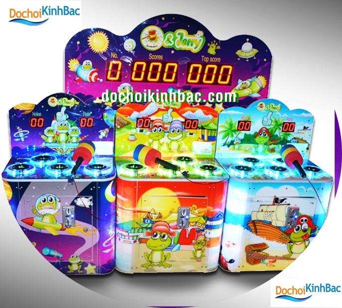 Máy đập chuột được đặt ở các khu vui chơi, TTTM đi kè trong nhà liên hoàn  khu vui chơi cho trẻ. Trò chơi này dành cho trẻ từ 3-10 tuổi, ...