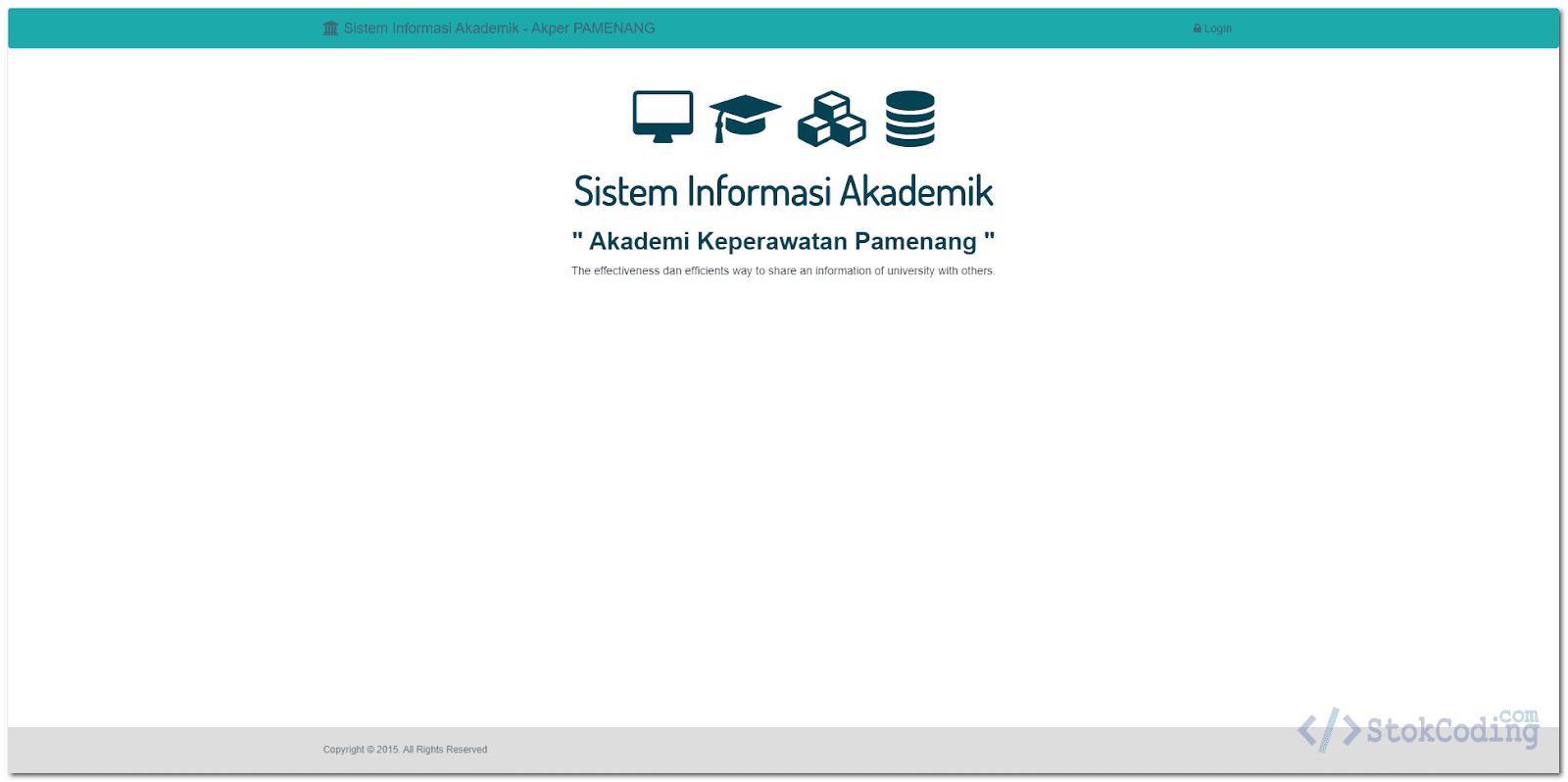 Aplikasi Akademik Kampus Berbasis Web (Codeigniter)