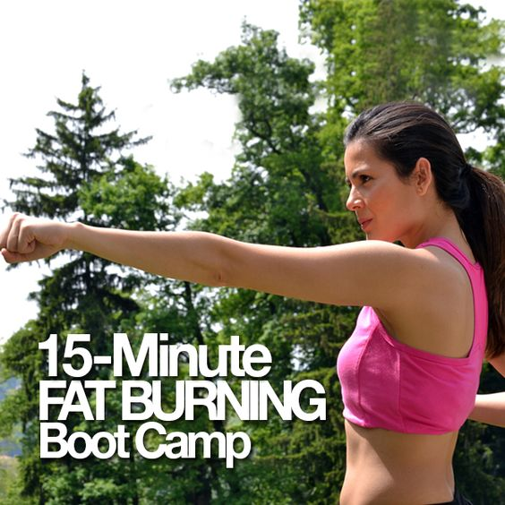 15 Minute Fat Burning Boot Camp