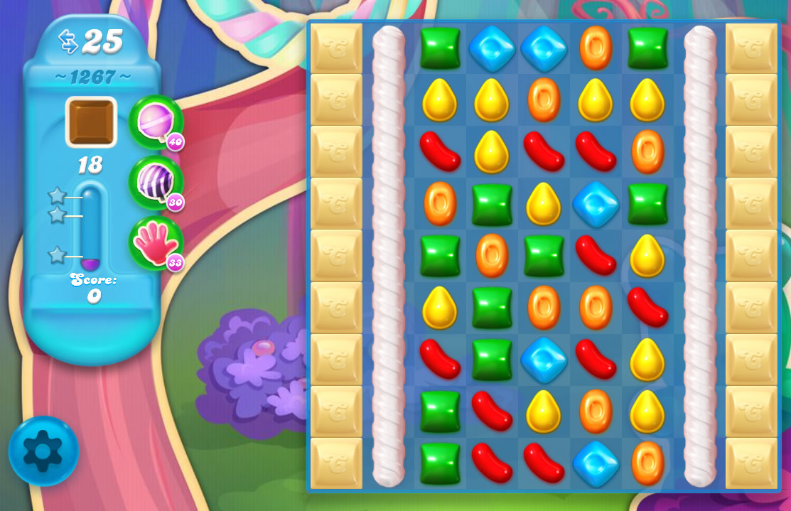 Candy Crush Soda Saga level 1267