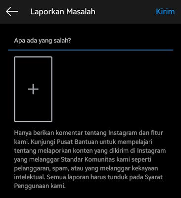 cara melaporkan masalah ke instagram dengan mudah