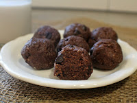 KETO NO-BAKE BROWNIE BITES {PALEO, GLUTEN FREE, DAIRY FREE, VEGAN}