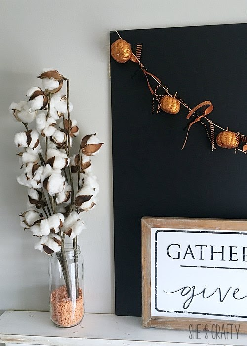 Halloween decor, Fall Decor, pumpkin banner for under $2, less than 5 mins