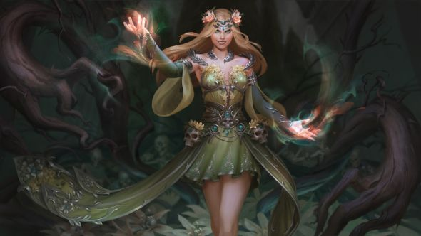 Anna Christenson artstation deviantart arte ilustrações fantasia games
