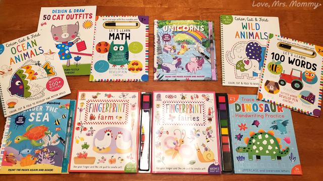 iSeek Books, Educational Learning, ocean animals, fingerprint, fairies, farm animals, first 100 words, learn math, dinosaur books