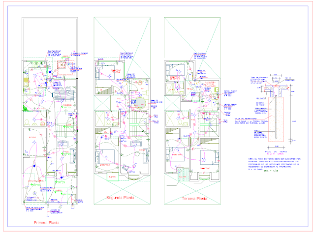 Electrical systems project DWG