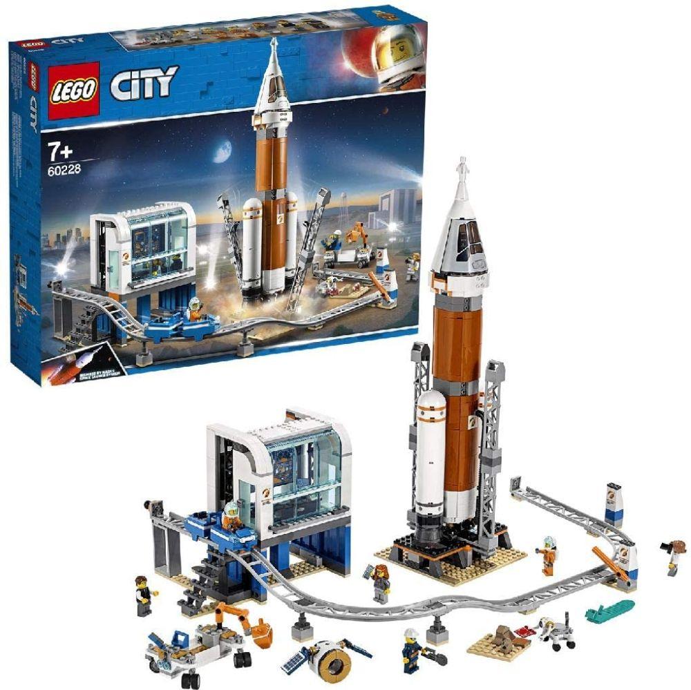 Лучшие конструкторы 2020 года для мальчиков Lego City Space Rocket Launch