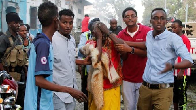 Deadly double bombing hits Somalia's Mogadishu