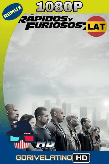 Rápidos y Furiosos 7 (2015) BDRemux 1080p Latino-Ingles MKV